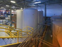 Industrial storage tanks photo