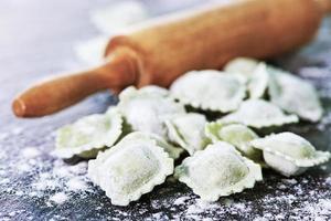 Freshly Made Homemade Ravioli photo