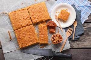 Bael fruit cake photo