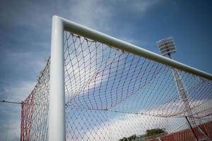 Soccer goal net photo