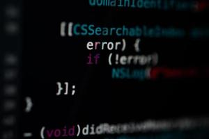 Programming code technology background photo