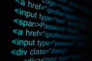 Programming code technology background