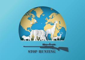 Stop hunting animals