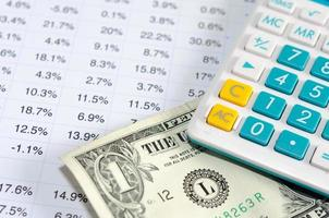 Close-up of accounting