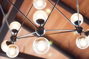 Close-up of lights