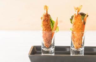 Batter fried prawns