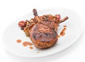 filete de chuleta de cerdo