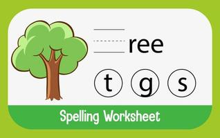 Find missing letter with tree