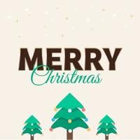 Merry Christmas wallpaper and greeting card