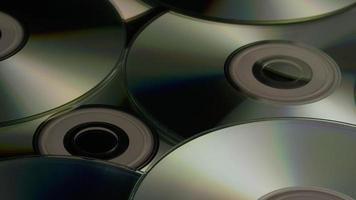 Disparo giratorio de discos compactos - cds 015