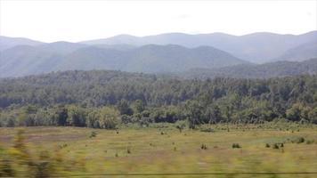 nas montanhas apalaches