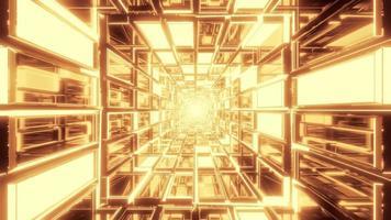 túnel de vidrio abstracto