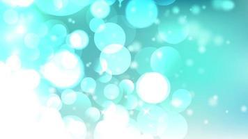 Fondo abstracto azul luces bokeh