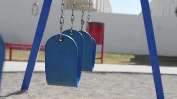 balanço azul estoque vídeo