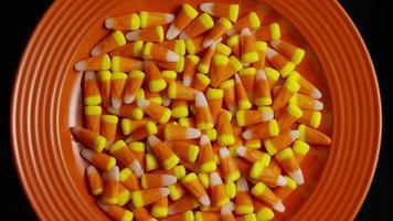 tiro giratório de milho doce de halloween - milho doce 018