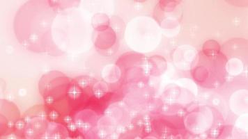 cerchi rosa che scorrono