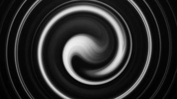 glatte bewegliche Kreislinien des Schwarzweiss