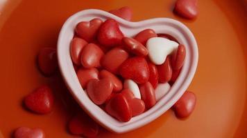 Imágenes de archivo giratorias tomadas de decoraciones y dulces de San Valentín - San Valentín 0076