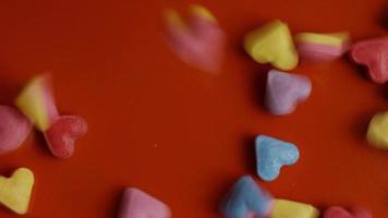 Imágenes de archivo giratorias tomadas de decoraciones y dulces de San Valentín - San Valentín 0086