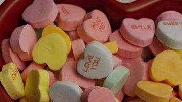 Imágenes de archivo giratorias tomadas de dulces del día de San Valentín - Valentines 015