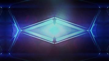 bucle de fondo de movimiento de ciencia ficción 4k