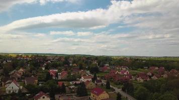 Drone footage in 4K - a village video