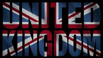 United Kingdom Flag With United Kingdom Mask