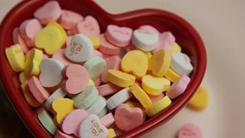 Imágenes de archivo giratorias tomadas de dulces del día de San Valentín - Valentines 012