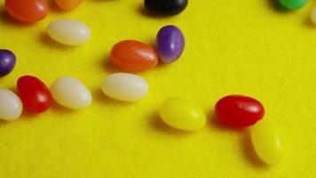 Foto giratoria de coloridos caramelos de Pascua - Pascua 082