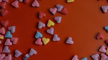 Imágenes de archivo giratorias tomadas de decoraciones y dulces de San Valentín - San Valentín 0082