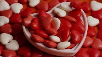 Imágenes de archivo giratorias tomadas de decoraciones y dulces de San Valentín - San Valentín 0074