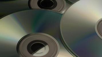 Disparo giratorio de discos compactos - cds 013
