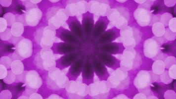 caleidoscopio bokeh violeta