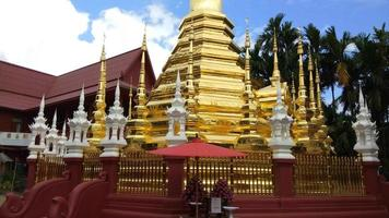 Wat Pantao Tempel in Chiang Mai, Thailand video