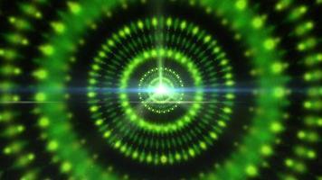 una estrella de púlsar gráfica que irradia luz y energía pulsante