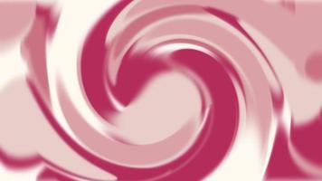 abstrakte rosa und rote Wellen video