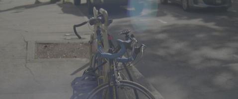 Fahrräder auf den Straßen