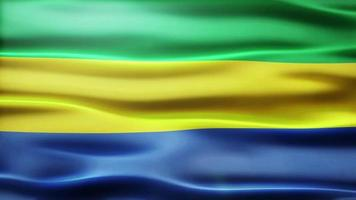 lazo de la bandera de Gabón