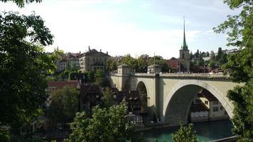 timelapse berna città, capitale della svizzera video