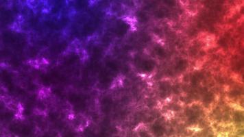 animação colorida de uma galáxia