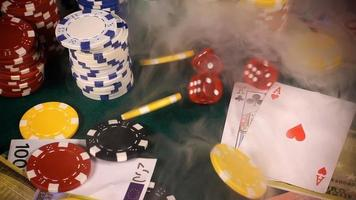itens de jogo na fumaça