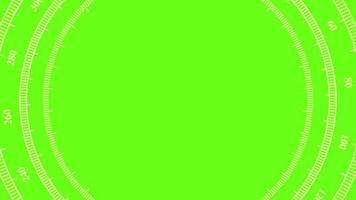compas - pantalla verde video