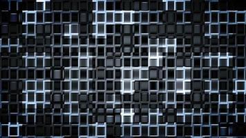 bucle de fondo de cuadrados futuristas video