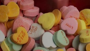 Imágenes de archivo giratorias tomadas de dulces de San Valentín - Valentines 017