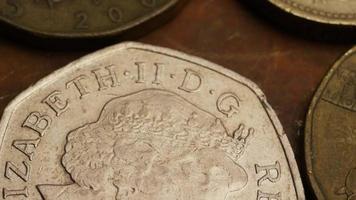 rotação de imagens de estoque de moedas monetárias internacionais - dinheiro 0376