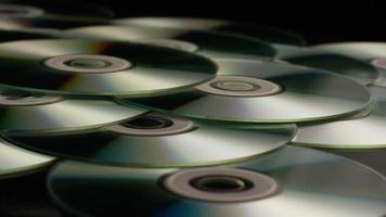 Disparo giratorio de discos compactos - cds 042