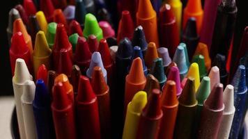 tiro giratório de giz de cera colorido para desenho e artesanato - giz de cera 015