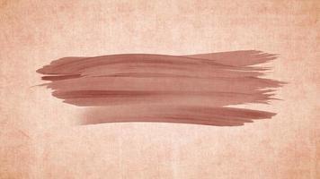 Trazo de pincel acuarela grunge sobre papel viejo retro vintage. acuarela dibujada a mano textura de fondo abstracto. animación de trazos de pincel de agua de grunge.