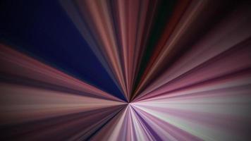 animação de fundo radial de luz de arco-íris bonito.