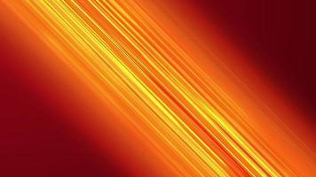 orange jaune 4k animation diagonale perspective anime lignes de vitesse comique. video